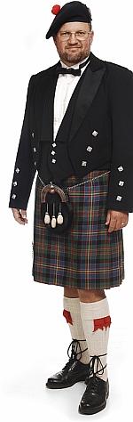 Laird of Glencairn im Kilt